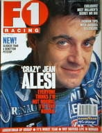 F1 Racing magazine - Jean Alesi cover (May 1996)