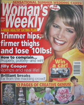 <!--2002-06-11-->Woman's Weekly magazine (11 June 2002)