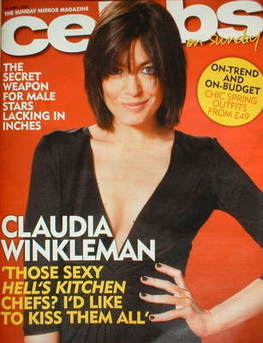 <!--2009-04-14-->Celebs magazine - Claudia Winkleman cover (14 April 2009)