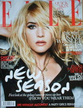 <!--2009-02-->British Elle magazine - February 2009 - Kate Winslet cover