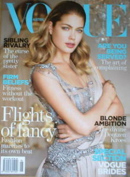 Australian Vogue magazine - June 2008 - Doutzen Kroes cover