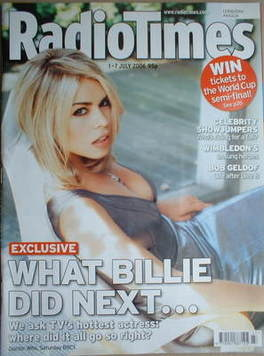 <!--2006-07-01-->Radio Times magazine - Billie Piper cover (1-7 July 2006)