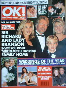 <!--2000-03-10-->OK! magazine - Richard Branson cover (10 March 2000 - Issu
