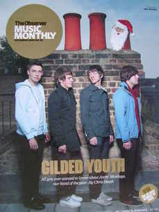 The Observer Music Monthly magazine - December 2006 - Arctic Monkeys cover