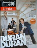 Time Out magazine - Duran Duran cover (24-31 March 2004)