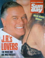 <!--1987-08-30-->Sunday magazine - 30 August 1987 - Larry Hagman J.R. cover