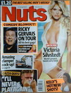 <!--2004-04-23-->Nuts magazine - Victoria Silvstedt cover (23-29 April 2004