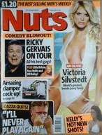Nuts magazine - Victoria Silvstedt cover (23-29 April 2004)