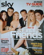 <!--2004-05-->Sky TV magazine - May 2004 - Friends cover