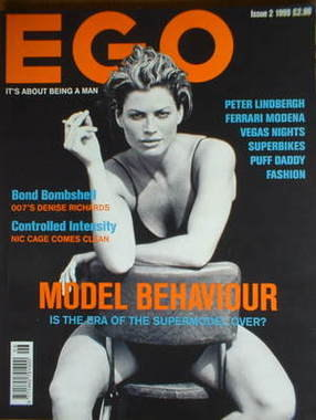 EGO magazine - Carre Otis cover (Issue 2 - 1999)