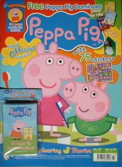 <!--2009-05-->Peppa Pig magazine - No. 37 (May 2009)