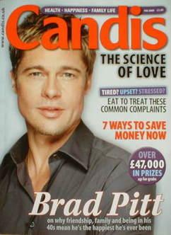 Candis magazine - February 2009 - Brad Pitt cover