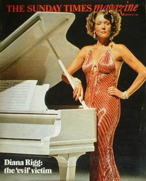 <!--1982-02-28-->The Sunday Times magazine - Diana Rigg cover (28 February