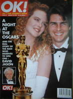<!--1997-03-16-->OK! magazine - Nicole Kidman and Tom Cruise cover (16 Marc