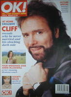<!--1997-02-23-->OK! magazine - Cliff Richard cover (23 February 1997 - Iss