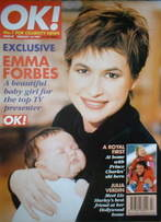 <!--1997-02-16-->OK! magazine - Emma Forbes cover (16 February 1997 - Issue