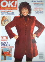 <!--1997-01-26-->OK! magazine - Ruby Wax cover (26 January 1997 - Issue 44)