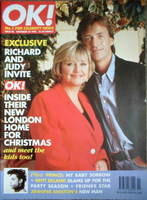 OK! magazine - Richard Madeley and Judy Finnigan cover (22 December 1996 - Issue 40)
