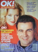 <!--1996-12-15-->OK! magazine - Gillian Taylforth & Geoff Knights cover (15