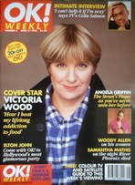 <!--1996-04-21-->OK! magazine - Victoria Wood cover (21 April 1996 - Issue 5)