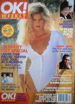 <!--1996-04-28-->OK! magazine - Rachel Hunter cover (28 April 1996 - Issue 6)