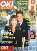 <!--1996-05-12-->OK! magazine - Jackie Collins cover (12 May 1996 - Issue 8)