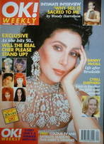 <!--1996-05-19-->OK! magazine - Cher cover (19 May 1996 - Issue 9)