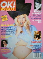 <!--1996-05-26-->OK! magazine - Pamela Anderson cover (26 May 1996 - Issue 10)