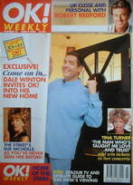 <!--1996-06-09-->OK! magazine - Dale Winton cover (9 June 1996 - Issue 12)