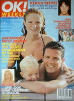 <!--1996-09-08-->OK! magazine - Patsy Palmer cover (8 September 1996 - Issue 25)