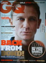 <!--2007-12-->British GQ magazine - December 2007 - Daniel Craig cover