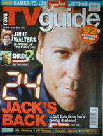 Total TV Guide magazine - Kiefer Sutherland cover (29 January-4 February 2005)