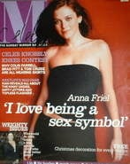 <!--2003-11-23-->Celebs magazine - Anna Friel cover (23 November 2003)