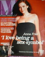 Celebs magazine - Anna Friel cover (23 November 2003)