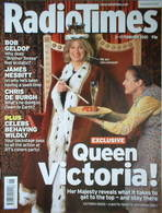 <!--2005-02-05-->Radio Times magazine - Victoria Wood cover (5-11 February