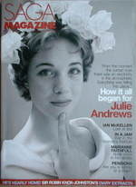 SAGA magazine - May 2007 - Julie Andrews cover