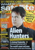 What Satellite And Digital TV magazine – John Barrowman cover (January 2008)