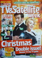 TV&Satellite Week magazine - David Tennant and Kylie Minogue cover (22 Dece