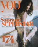 <!--2008-03-16-->You magazine - Sarah Brightman cover (16 March 2008)