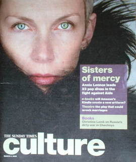 Culture magazine - Annie Lennox cover (9 March 2008)
