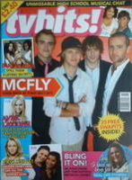 <!--2007-11-->TV Hits magazine - November 2007 - McFly cover