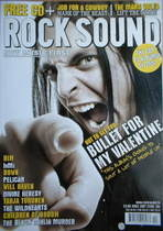 Rock Sound magazine - Bullet For My Valentine (Xmas 2007, Issue 104)