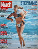Paris Match magazine - 4 August 1994 - Princess Stephanie cover
