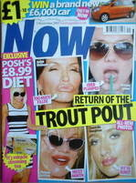 <!--2007-11-05-->Now magazine - Trout Pout cover (5 November 2007)