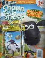 Shaun the Sheep comic (April 2007, Issue 1)