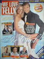<!--2007-01-20-->We Love Telly magazine - Duncan James & Ulrika Jonsson cover (20-26 January 2007)