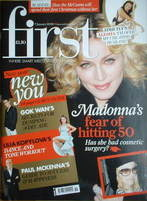 <!--2008-01-07-->First magazine - 7 January 2008 - Madonna cover