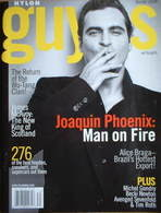 <!--2008-12-->Nylon Guys magazine - Joaquin Phoenix cover (Winter 2008)