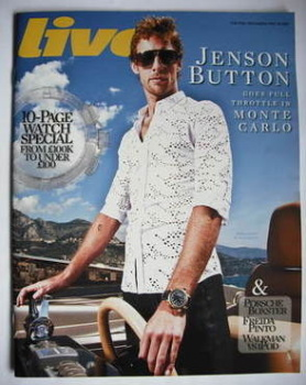 Live magazine - Jenson Button cover (24 May 2009)