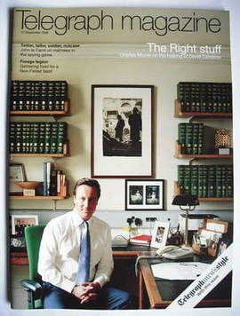 <!--2008-09-27-->Telegraph magazine - David Cameron cover (27 September 200